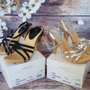 2 Bakers Marlana Strappy Heel Sandals
